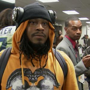 Seattle Seahawks running back Marshawn Lynch's anticipated word(s)