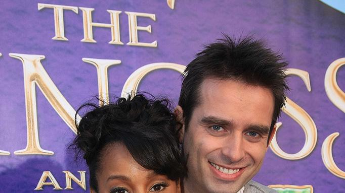 The Princess and the Frog LA Premiere 2009 Bruno Campos Anika Noni Rose