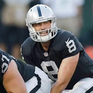 Schaub to start for Raiders Week 1
