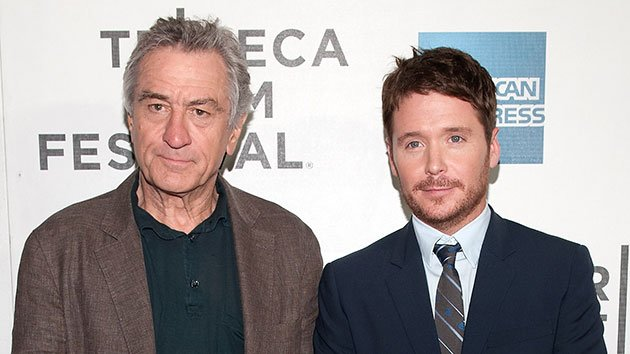 Robert De Niro and Kevin Connolly