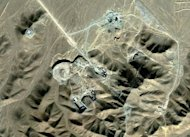 This satellite image made available to AFP in 2009 by Digitalglobe shows Iran's underground nuclear facility at Fordo, which is situated near the holy Shiite city of Qom. Siemens denied Sunday that it had sold any nuclear equipment to Iran, after a prominent Iranian lawmaker accused the German firm of selling the country gear that was laced with explosives