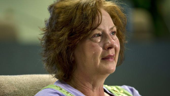 Julie Jones talks about her son Elam Jones  in Huntington, Utah,  Saturday March 23, 2013.  Elam Jones, 28, was killed Friday when a tunnel roof collapsed at the Rhino Mine about 10 miles west of his hometown of Huntington. (AP Photo/The Salt Lake Tribune, Chris Detrick)  DESERET NEWS OUT; LOCAL TV OUT; MAGS OUT