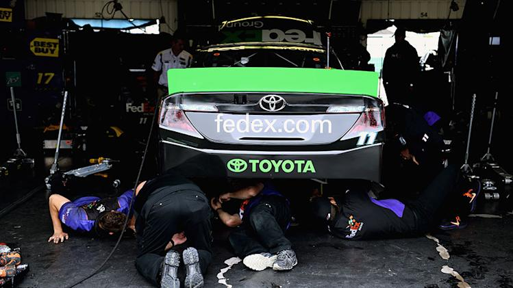 Hamlin: 'I'd rather blow up leading'