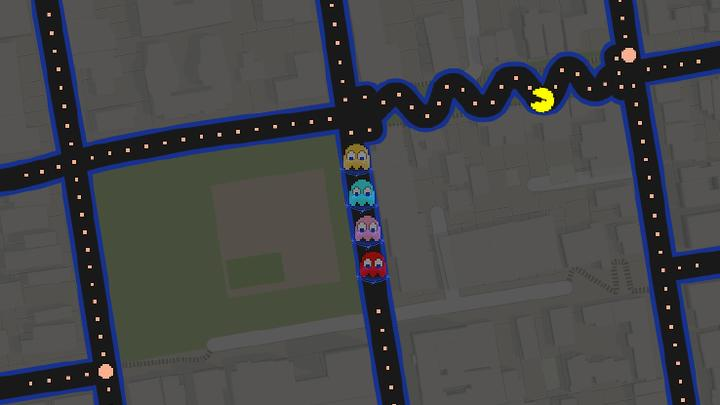 Google Maps lets you play Pac-Man on your neighborhood streets