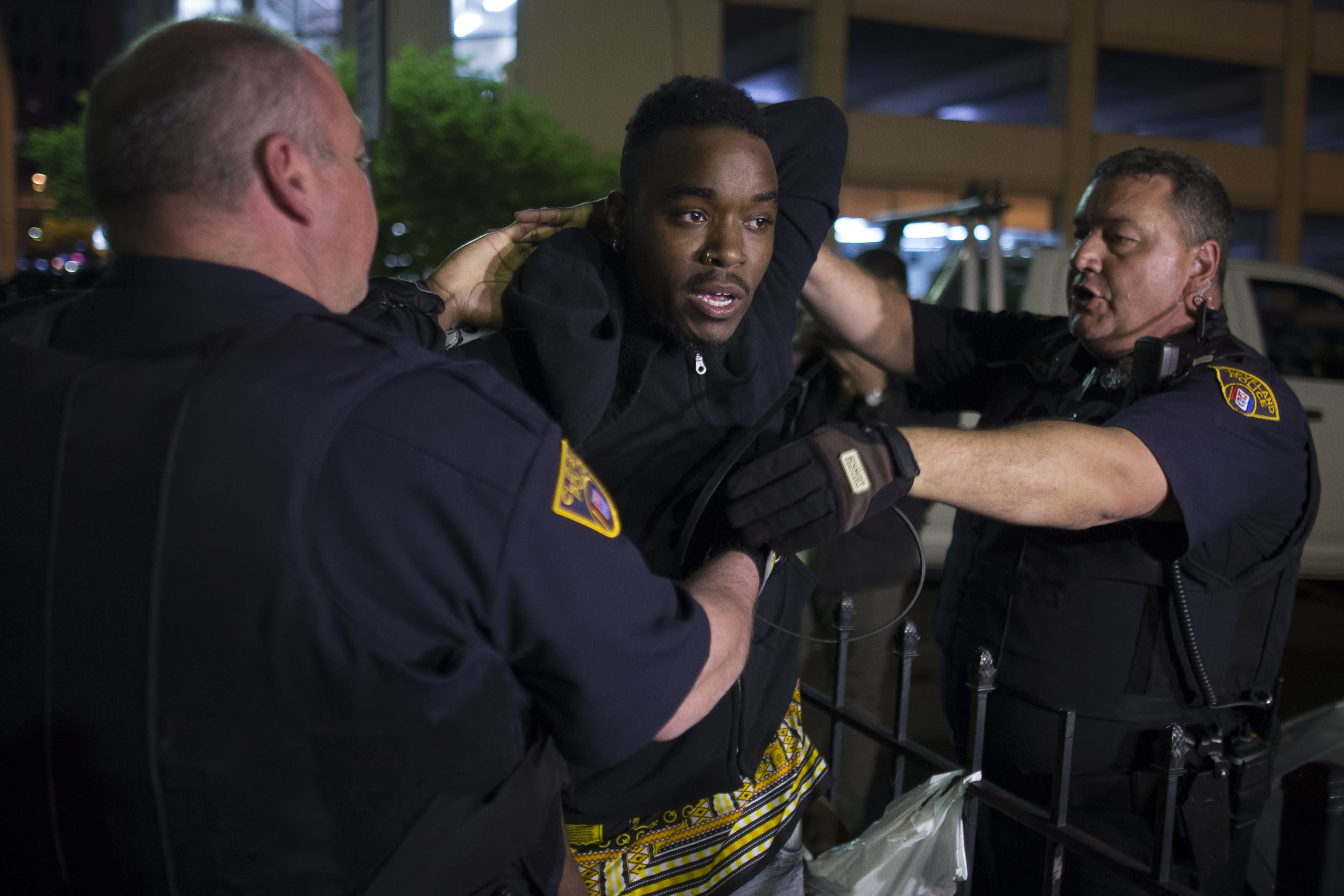 The Latest in Cleveland:  Multiple arrests after verdict