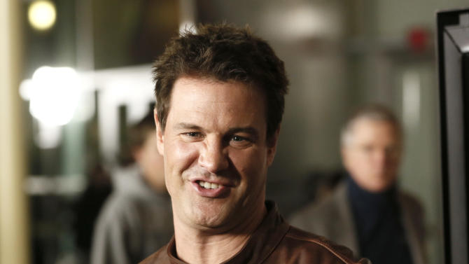"""Dave Sheridan attends the premiere of """"A Haunted House"""" at the Arclight Hollywood on Thursday, Jan. 3, 2013, in Los Angeles. (Photo by Todd Williamson/Invision/AP)"""