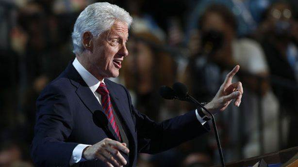What Are They Saying About Bill Clinton's Big Speech Today?