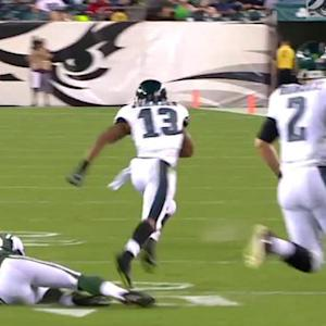 Philadelphia Eagles wide receiver Damaris Johnson 21-yard run