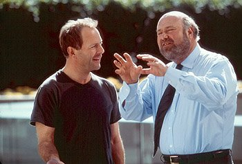 Bruce Willis and Rob Reiner in Universal's The Story Of Us