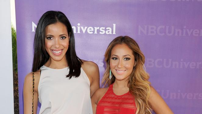 Julissa Bermudez and Adrienne Bailon
