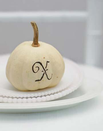 Personalized Pumpkin