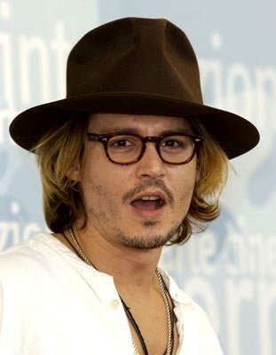 Johnny Depp Once Upon A Time In Mexico Venice Film Festival - 8/28/2003