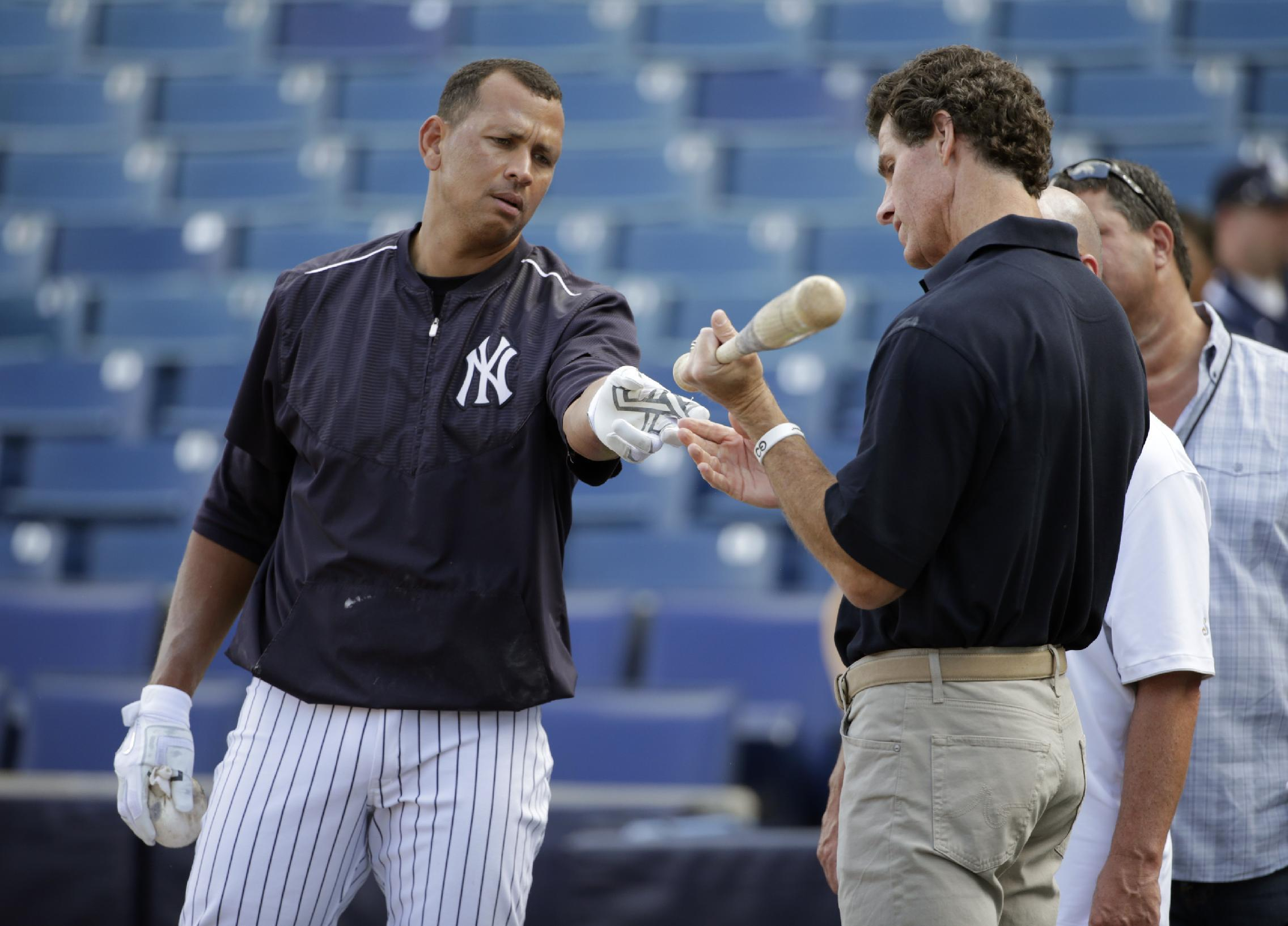 Cashman: A-Rod making case for DH
