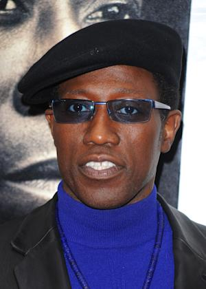 """FILE - In this March 2, 2010 file photo, Wesley Snipes attends the premiere of """"Brooklyn's Finest"""" in New York. The 11th Circuit Court of Appeals in Atlanta on Tuesday, Sept. 6, 2011, rejected the appeal by Snipes, who was convicted in 2008 on three misdemeanor counts of willful failure to file income tax returns. (AP Photo/Peter Kramer, file)"""