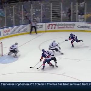 Jonathan Quick Save on Frans Nielsen (16:58/3rd)