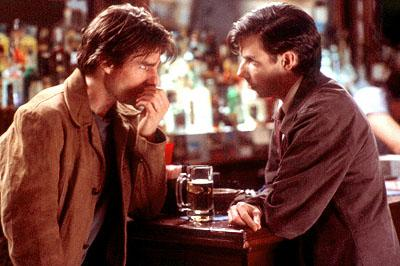 Tom Cruise and Noah Taylor in Paramount's Vanilla Sky