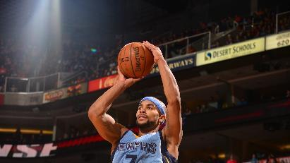 Bayless spurs Grizzlies to 99-91 win over Suns