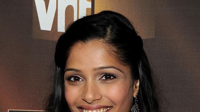 14th Annual Critics' Choice Awards 2009 Freida Pinto