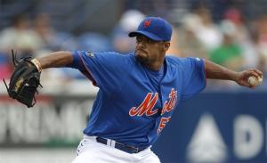 Santana goes 2 2-3 innings, Marlins beat Mets