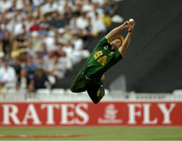 Jonty Rhodes of South Africa