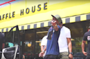 A Waffle House Parking Lot Is the Perfect Place to Film a Music Video