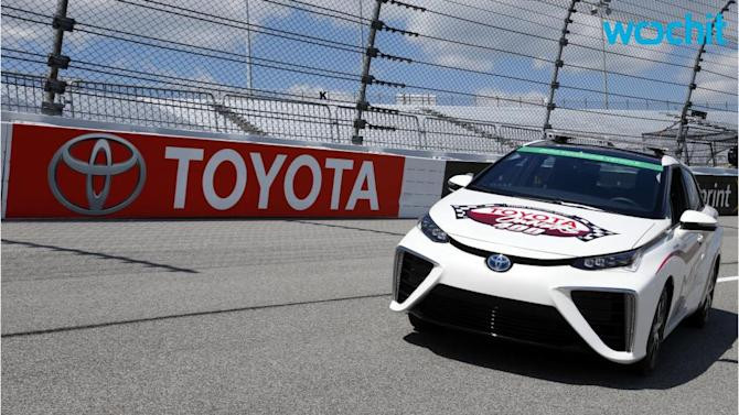 Toyota Mirai: World's First Fuel Cell Pace Car