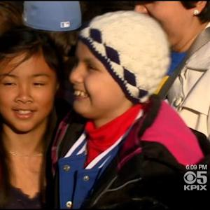 Vallejo's 10-Year-Old 'Wonder Girl' Inspires City Amid Cancer Battle