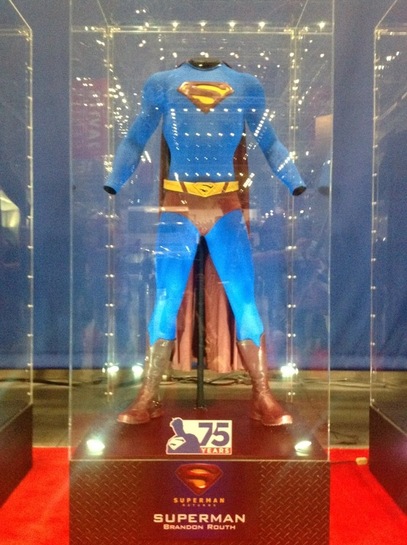 superman returns suit nycc 2013