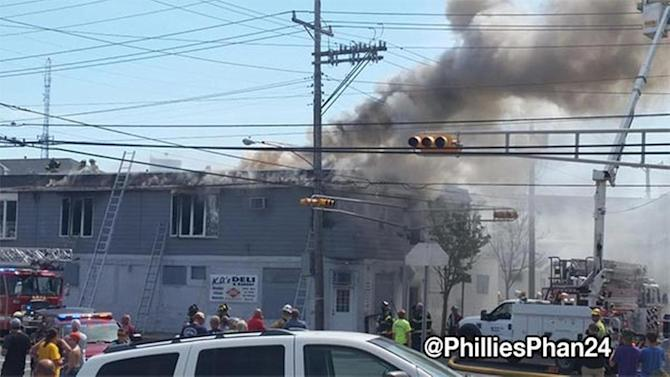 Power restored after fire in Wildwood, NJ