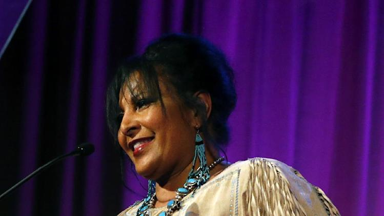 Pam Grier is seen at the Visionary Awards benefiting the Entertainment AIDS Alliance, on Wednesday, Nov. 14, 2012 in Los Angeles. (Photo by Todd Williamson/Invision for the Entertainment AIDS Alliance/AP Images)