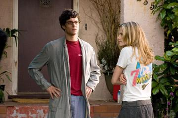 Adam Brody and Kristen Stewart in Warner Bros. Pictures' In the Land of Women