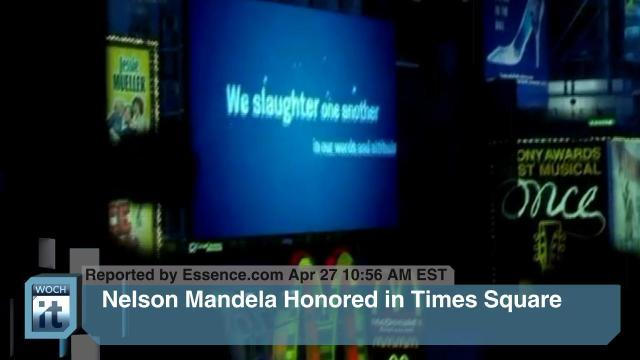 New York City News - Nelson Mandela, BP Plc, Boston