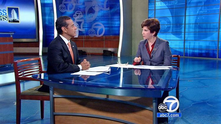 LA mayor talks CT shooting, gun buyback