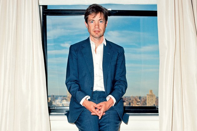 Berggruen in his suite at the Carlyle in Manhattan.