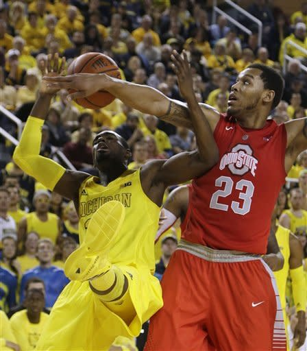 No. 3 Michigan edges No. 10 Ohio State 76-74 in OT