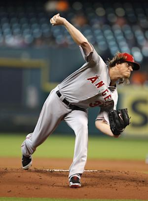 Weaver, Angels end Astros' 4-game winning string