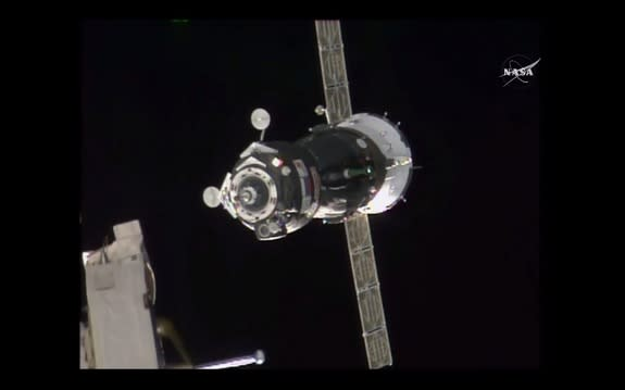 Crowded House! International Crew Arrives at Space Station