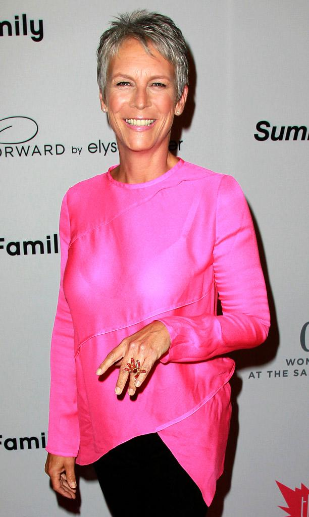 Jamie Lee Curtis Pink Party
