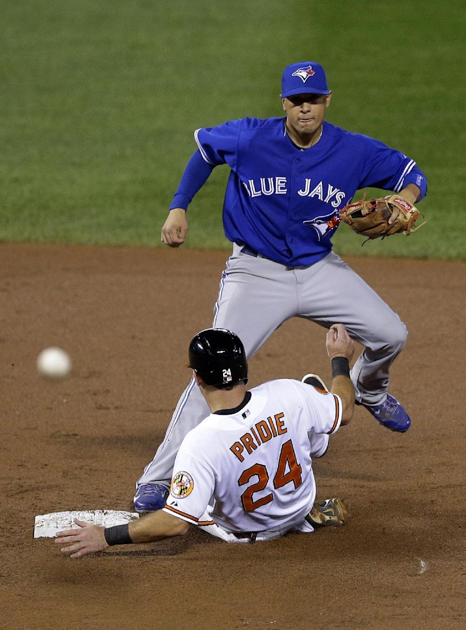 Gonzalez, Wieters lead Orioles past Blue Jays 3-2