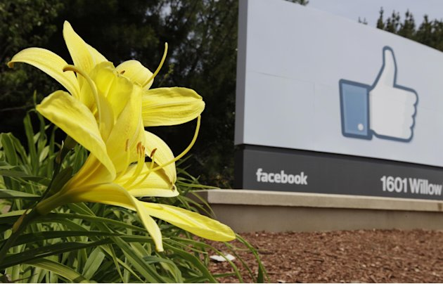 Exterior view of Facebook headquarters in Menlo Park, Calif., Wednesday, May 2, 2012. Facebook will go public on May 18, a Wall Street Journal report says, in one of the most highly anticipated tech i
