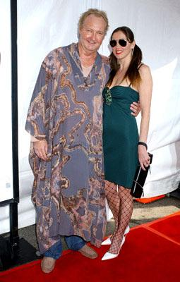 Premiere: Randy Quaid with wife Evi at the Westwood premiere of New Line Cinema's Monster-In-Law - 4/29/2005