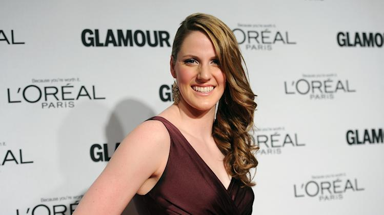 "Olympic gold medal swimmer Missy Franklin attends Glamour Magazine's 22nd annual ""Women of the Year Awards"" at Carnegie Hall on Monday Nov. 12, 2012 in New York. (Photo by Evan Agostini/Invision/AP)"
