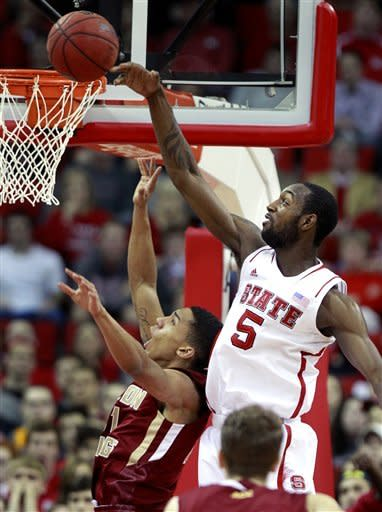 Purvis sparks NC State past Boston College 82-64