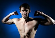Michael Phelps of the US Olympic Swimming team poses for pictures during the 2012 Team USA Media Summit in May 2012. Phelps's bid to maintain Olympic swimming supremacy begins in earnest next week, when he renews his rivalry with Ryan Lochte at the US Olympic swimming trials