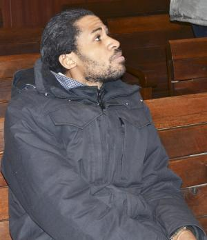 French citizen Joachin is pictured inside the courtroom…
