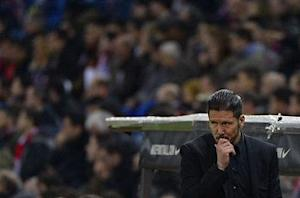 Atletico boss Diego Simeone: Fixture list makes me nervous