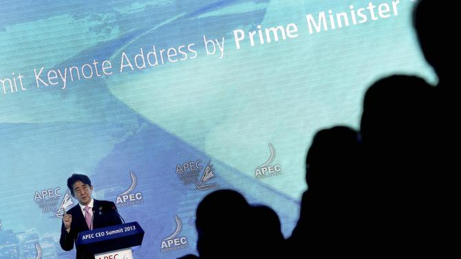 With Obama out, others take APEC stage, sort of