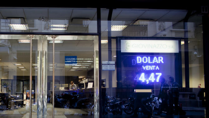 Argentina: Black market grows with currency