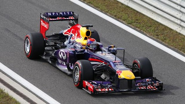Sebastian Vettel takes pole at the Korean Grand Prix (Reuters)