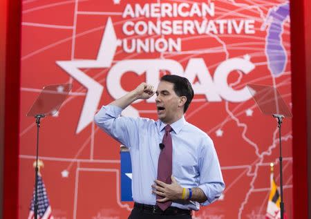 Governor Walker speaks at the 42nd annual Conservative Political Action Conference